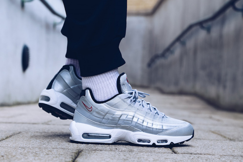 Swag Craze: First Look: Nike Air Max 95 The Silver Bullet